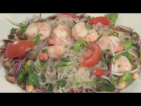 How to prepare thai glass noodle salad youtube food pinterest how to prepare thai glass noodle salad youtube forumfinder Choice Image