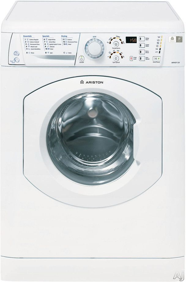Ariston Arwdf129 24 Inch Washer Dryer Combo With 1 82 Cu Ft Capacity 13 Wash Cycles 3 Dry Cycles 1 2 Washer And Dryer Washer Dryer Combo Washer Dryer Set