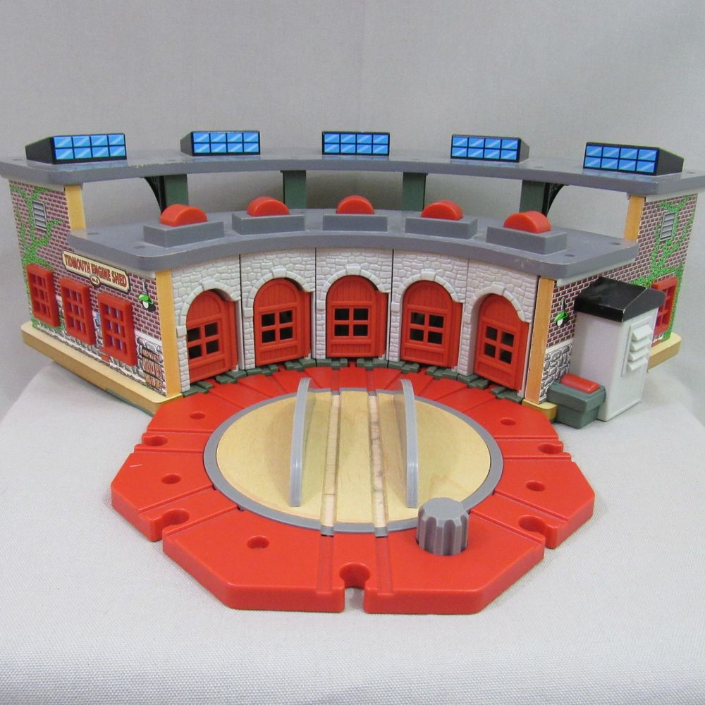 Brilliant Thomas The Train Wooden Railway Tidmouth Shed Engine Home Remodeling Inspirations Genioncuboardxyz