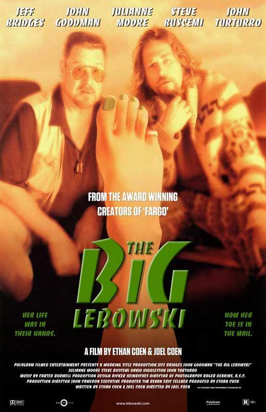 The Big Lebowski 1998 Bridges Goodman Canvas Art Movie Poster Comedy Film Print