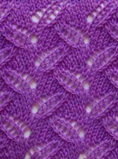 Photo of Knit lace pattern