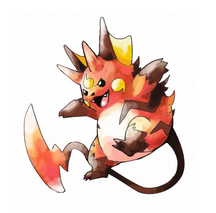 12++ Pokemon gorochu info