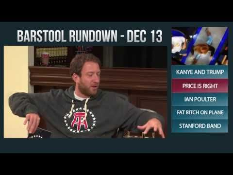 Barstool Rundown - December 13, 2016 - http://www.truesportsfan.com/barstool-rundown-december-13-2016/