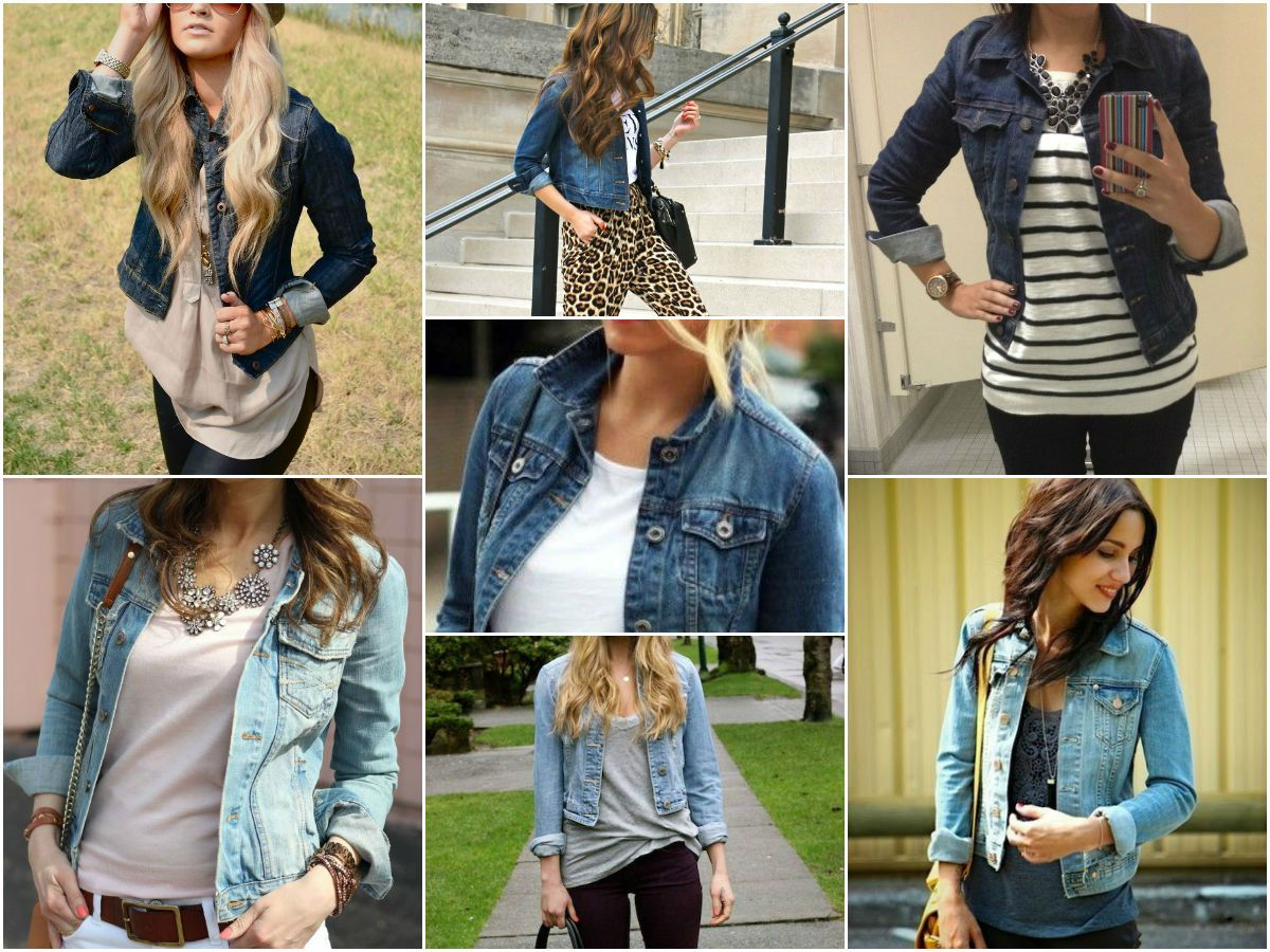 outfits with jean jacket | what to wear with a jean jacket women