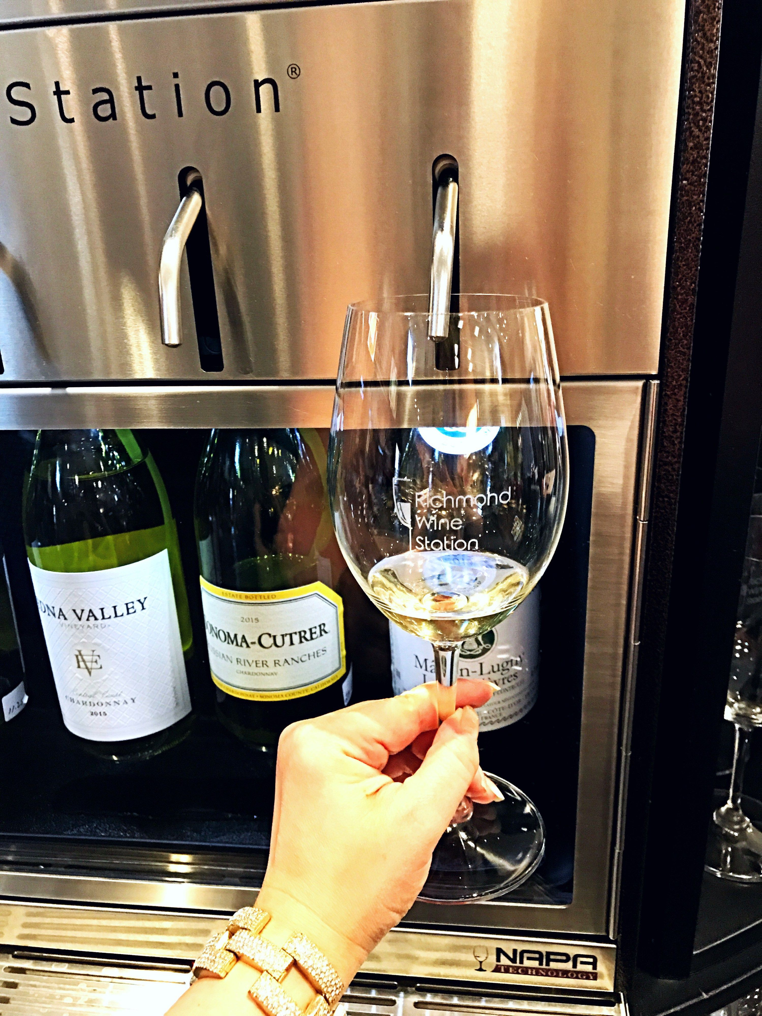 Taste 64 Different Wines At Your Own Pace At Richmond Wine Station