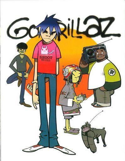 This my favorite Gorillaz song    Music in 2019   Gorillaz, Gorillaz