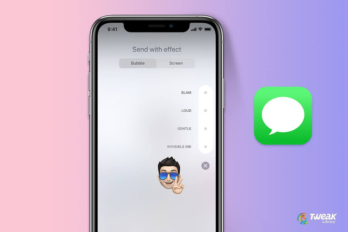 How to send a message with effects on iphone ipad ipod