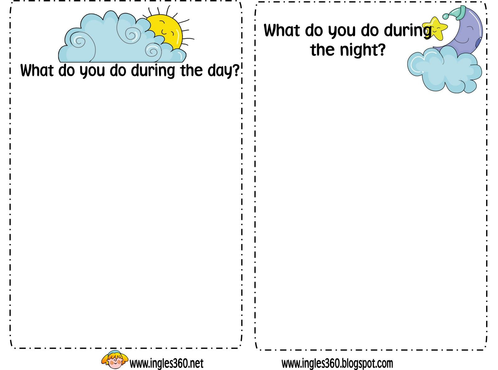 Day And Night Preschool Lesson