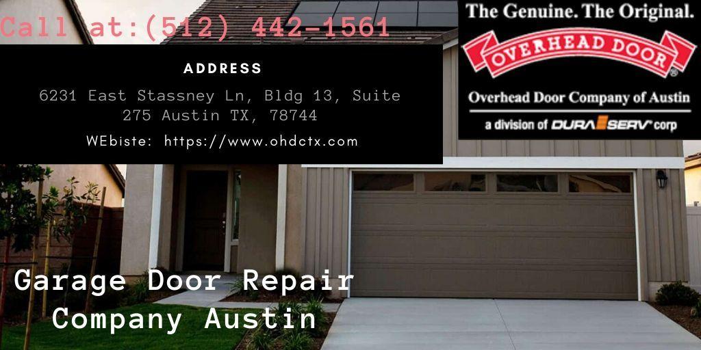 Pin On Garage Door Repair Company