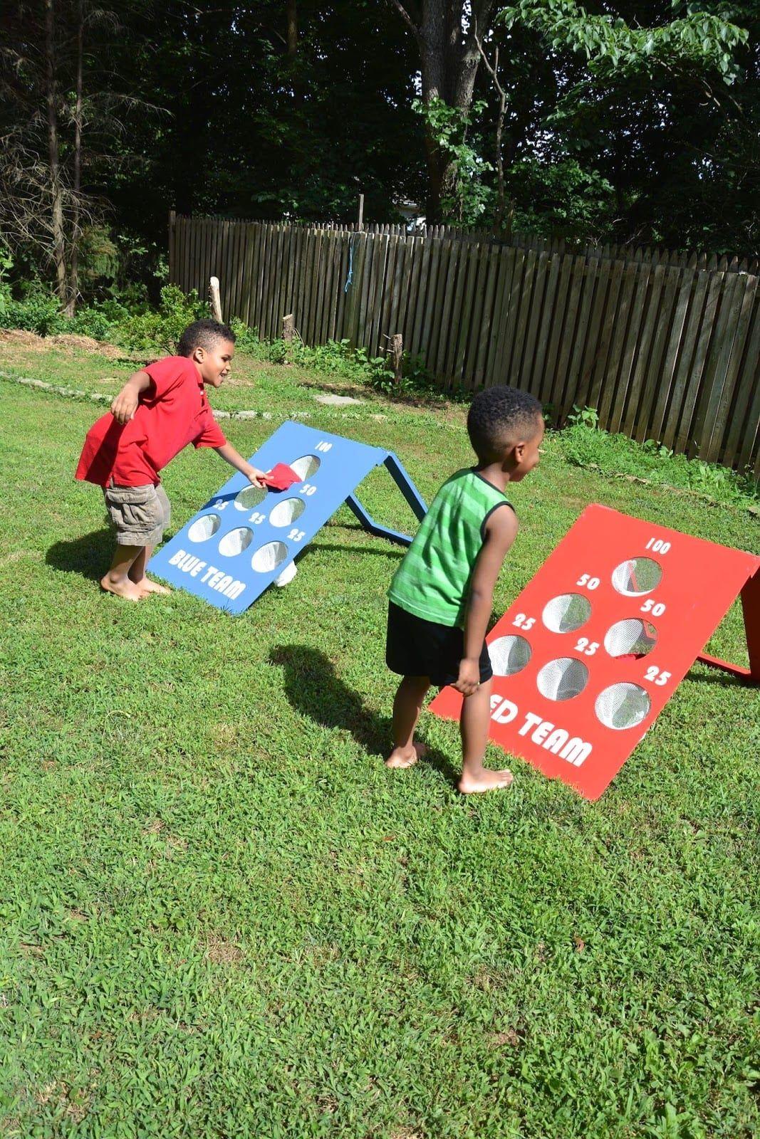 Incredible How To Make A Diy Backyard Bean Bag Toss Game Kids Bean Evergreenethics Interior Chair Design Evergreenethicsorg