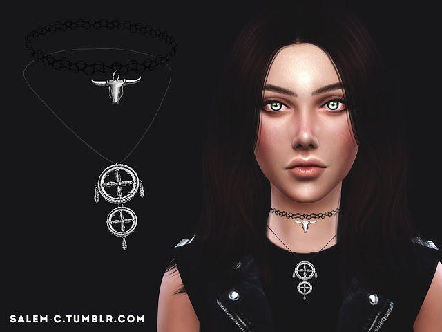 Sims 4 CC's - The Best: Necklace by Salem C