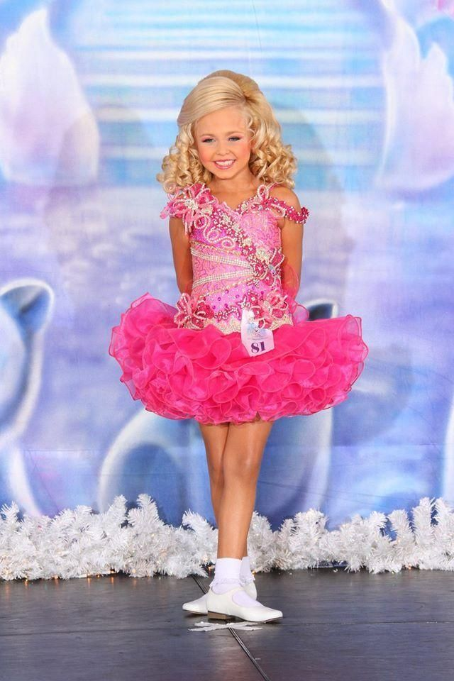 Beauty Dresses Little Girls Pageant Gowns Fuchsia Organza Crystal ...