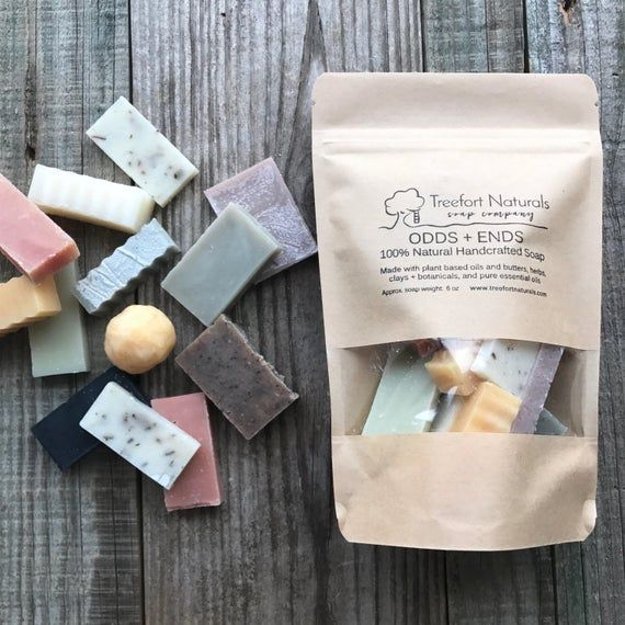 Soap Pieces - Miscellaneous little soaps, odds and ends, Handmade soap, Cold Process, All Natural soap, vegan soap, travel soap #soappackaging