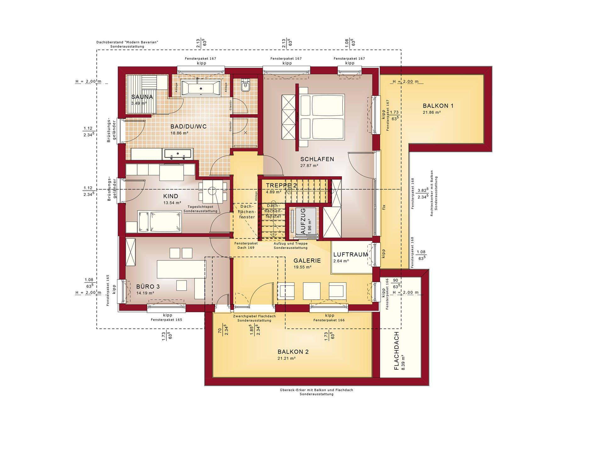 grundriss dg evolution mannheim von bien zenker floor plans pinterest musterhaus. Black Bedroom Furniture Sets. Home Design Ideas