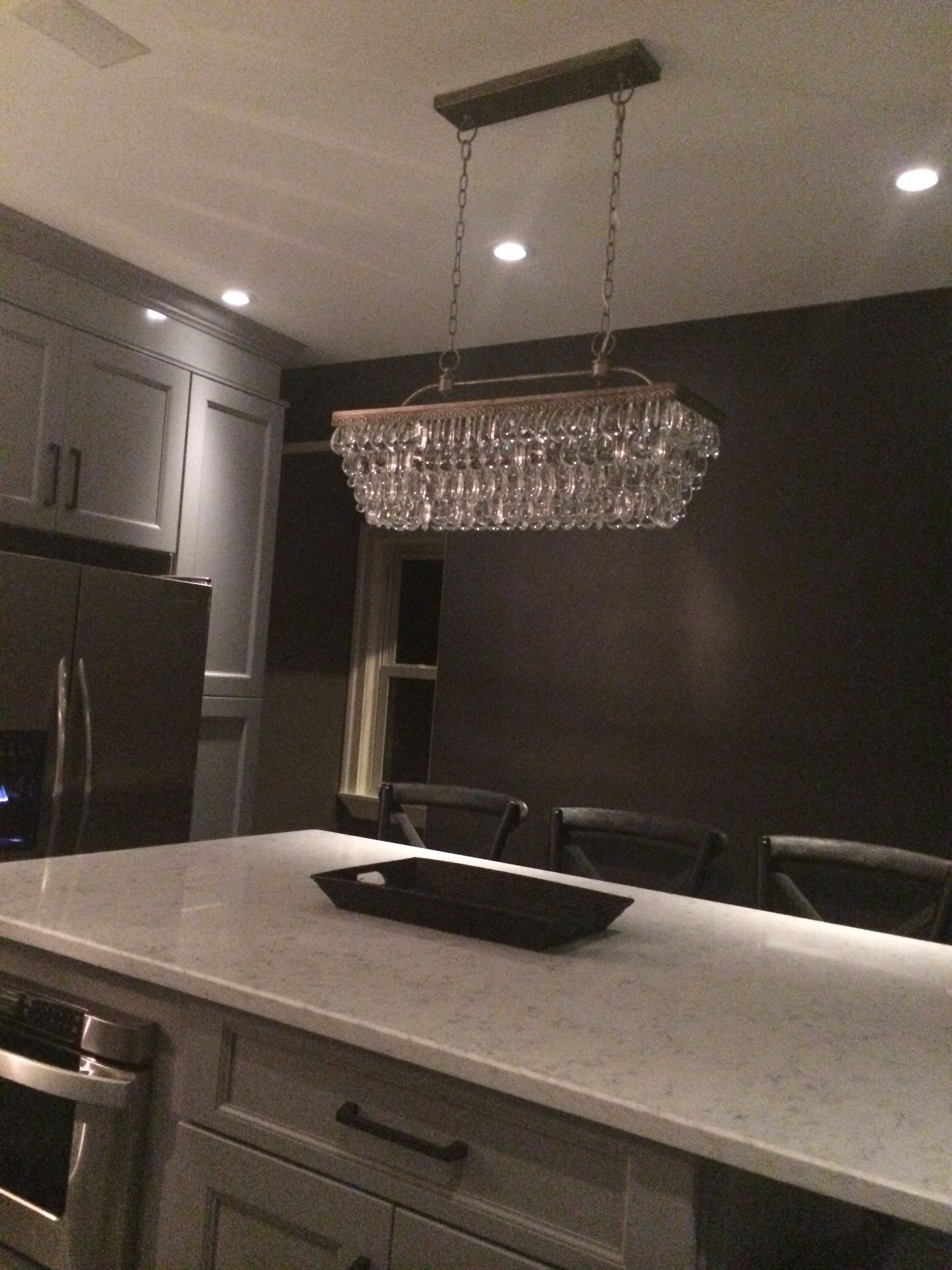 Pottery Barn Kitchen Lighting The Island Chandelier Pottery Barn Clarissa Glass Drop Extra Long