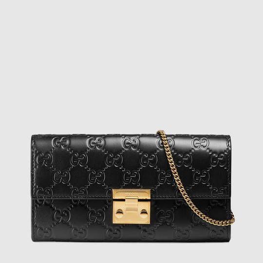 461f3252839 Gucci Padlock continental wallet