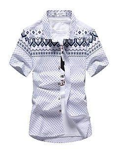 cfa33feac86 Men s Beach Plus Size Daily Casual Active Street chic Summer Shirt ...