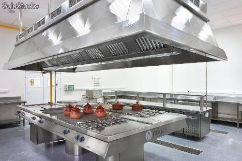 Equipamos cozinhas industriais