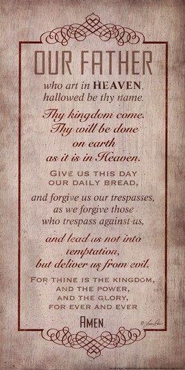 The Lord S Prayer By Lauren Rader Christian Art