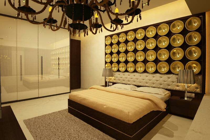 a modern classic bedroom design by anamika tomar featured on h2designo http