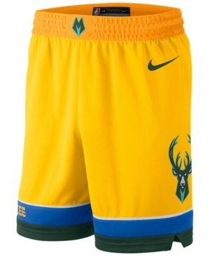 81f350e17d Men's Milwaukee Bucks City Swingman Shorts in 2019 | Products | Nike ...