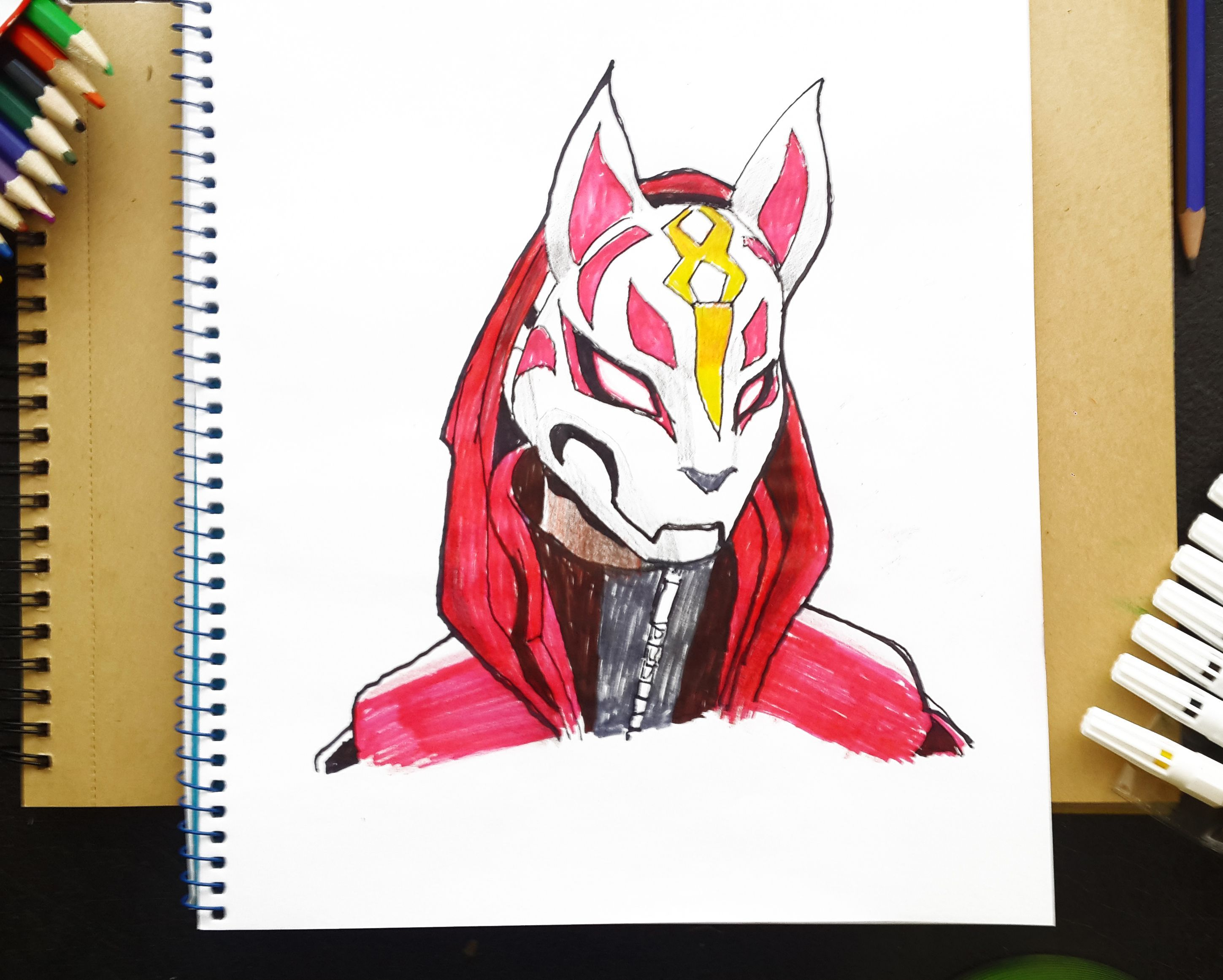 Drift Fortnite How To Draw Drift From Fortnite Battle Royal Art