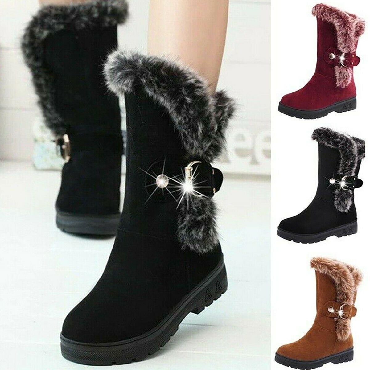 Damen Stiefeletten Schlupfstiefel Winter Stiefel 895787 Trendy