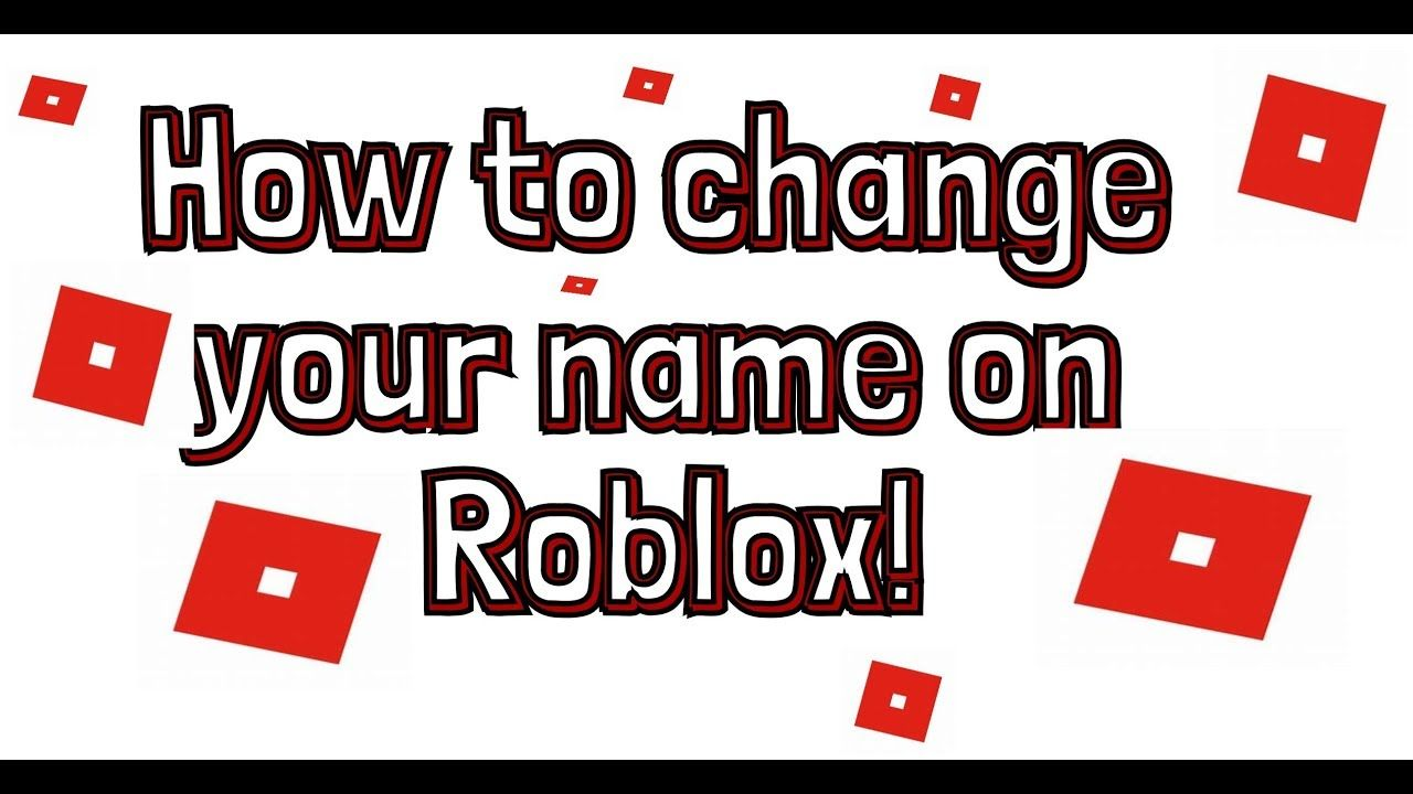 How To Change Your Name On Roblox Changing Your Name You Changed Roblox