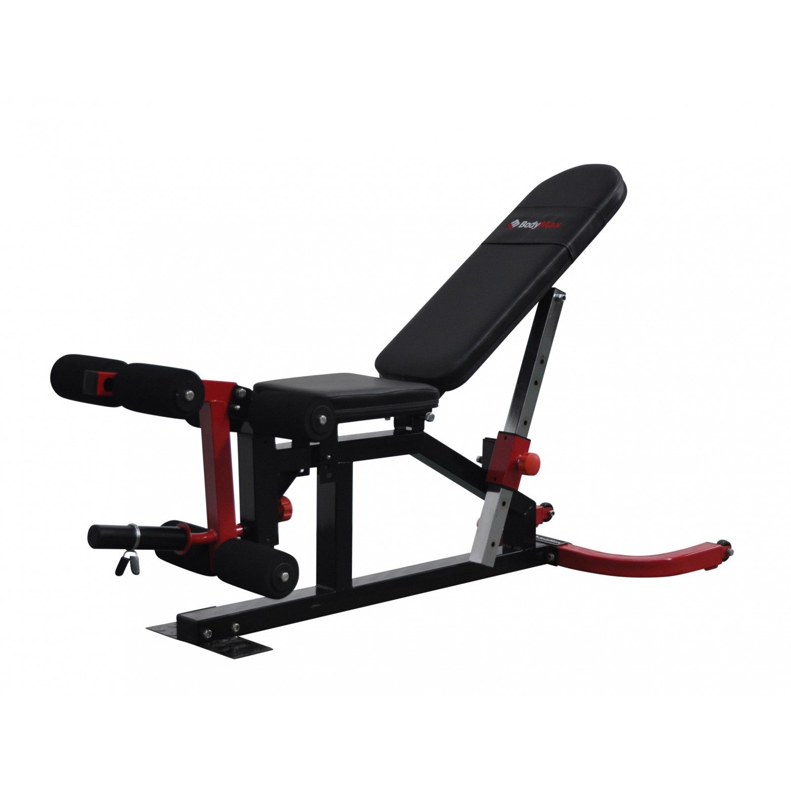 Bodymax Cf510 Elite Utility Flat Incline Decline Bench With Leg Curl And Preacher At Powerhouse