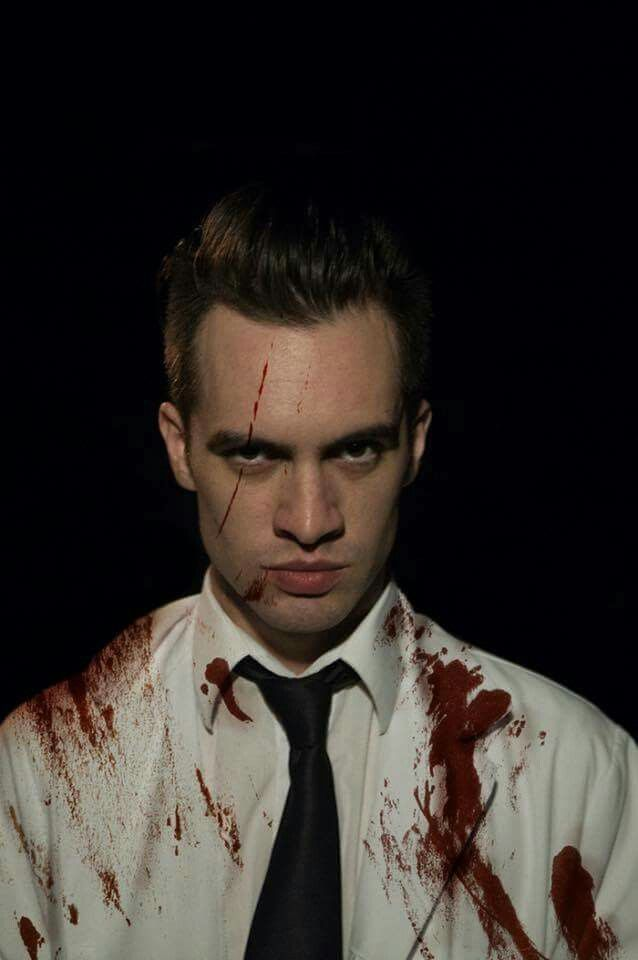 He looks perfect even after he just murdered somebody