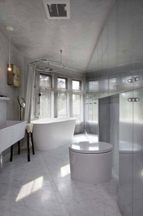48 Luxurious Marble Bathroom Designs  Digsdigs  Bathroom Design Prepossessing Marble Bathroom Designs Design Ideas