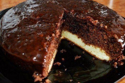 пирог с творогом шоколадный в мультиварке рецепты с фото