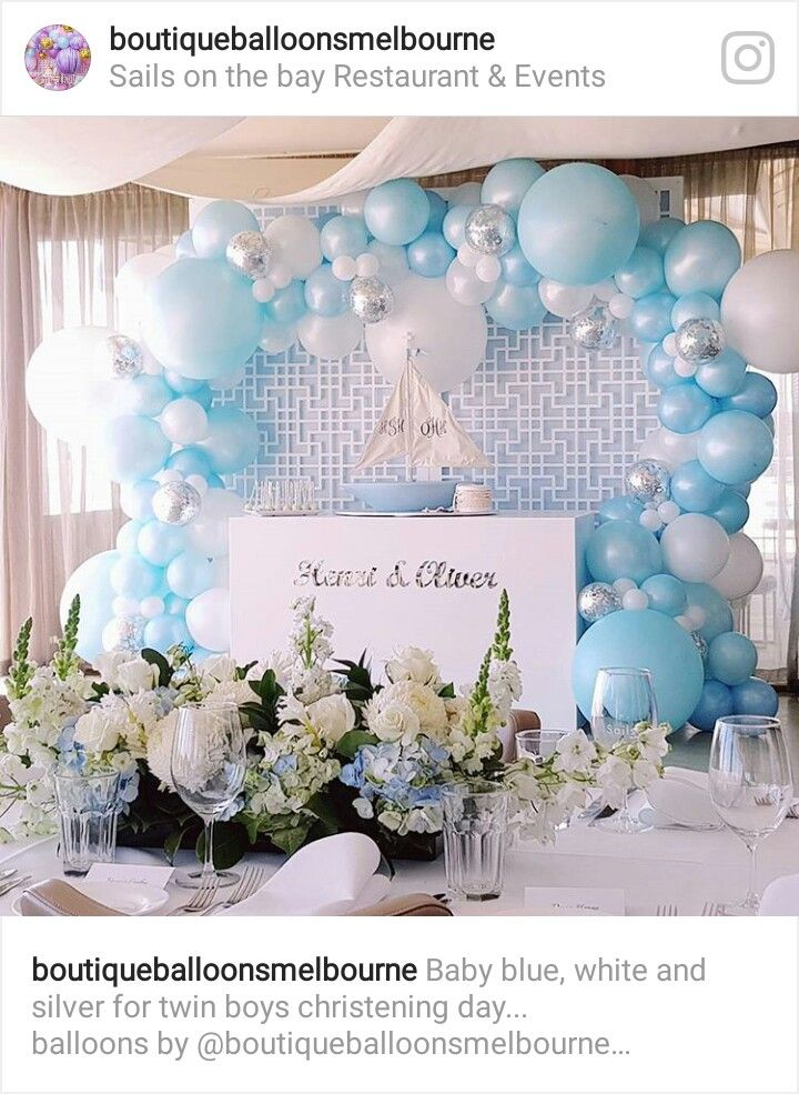 Pin By Stephanie Walton On Party Time Boy Christening Prince