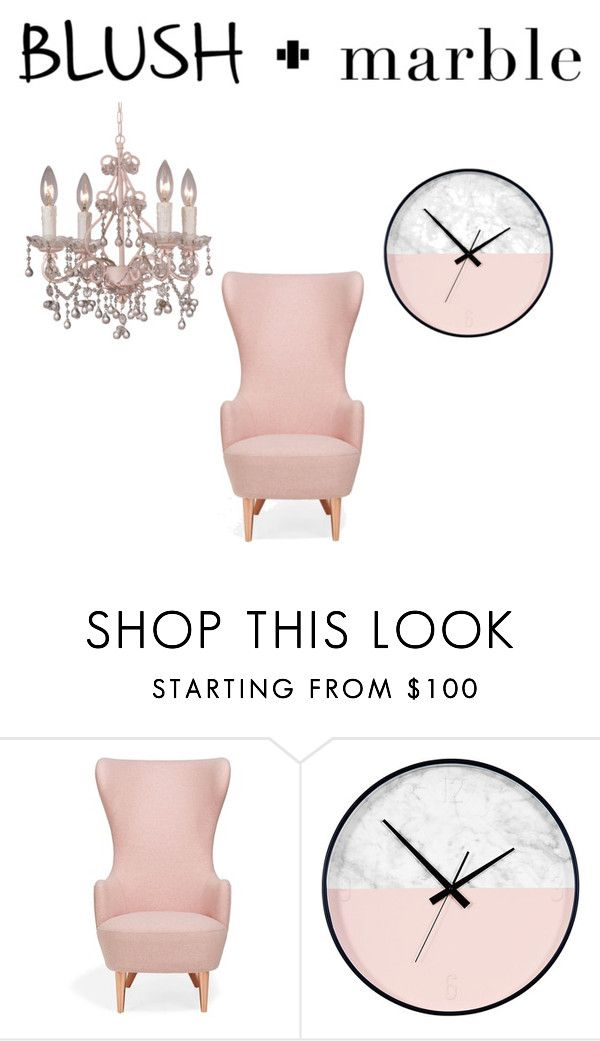 """""""Untitled #44"""" by pepper27 ❤ liked on Polyvore featuring interior, interiors, interior design, home, home decor, interior decorating, Tom Dixon, Crystorama, homedecor and blushmarble"""