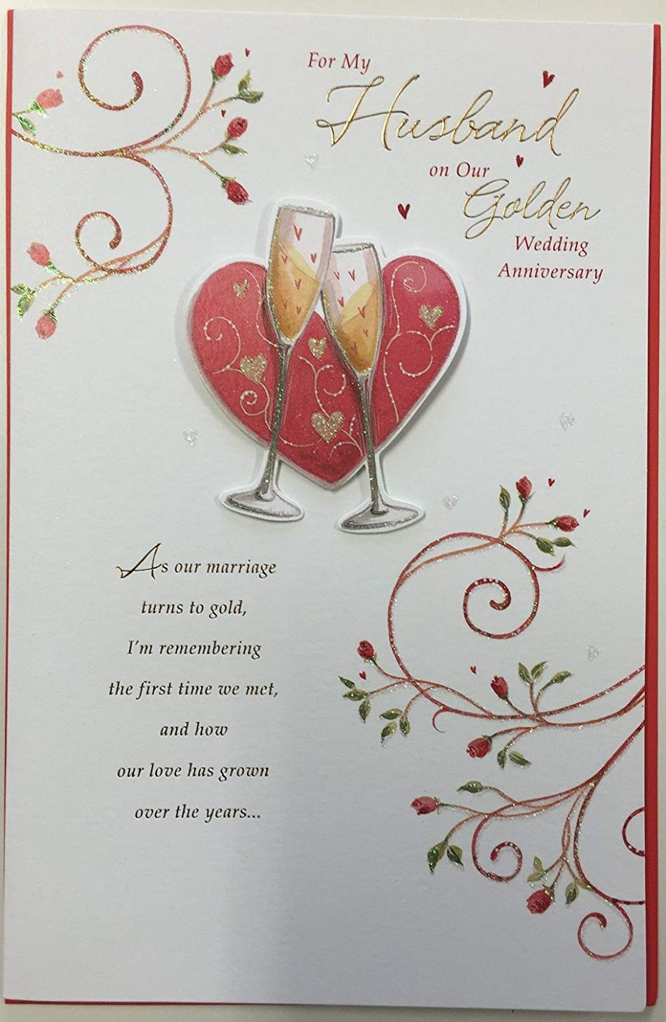 Anniversary Greeting Card Anniversary Cards For Husband