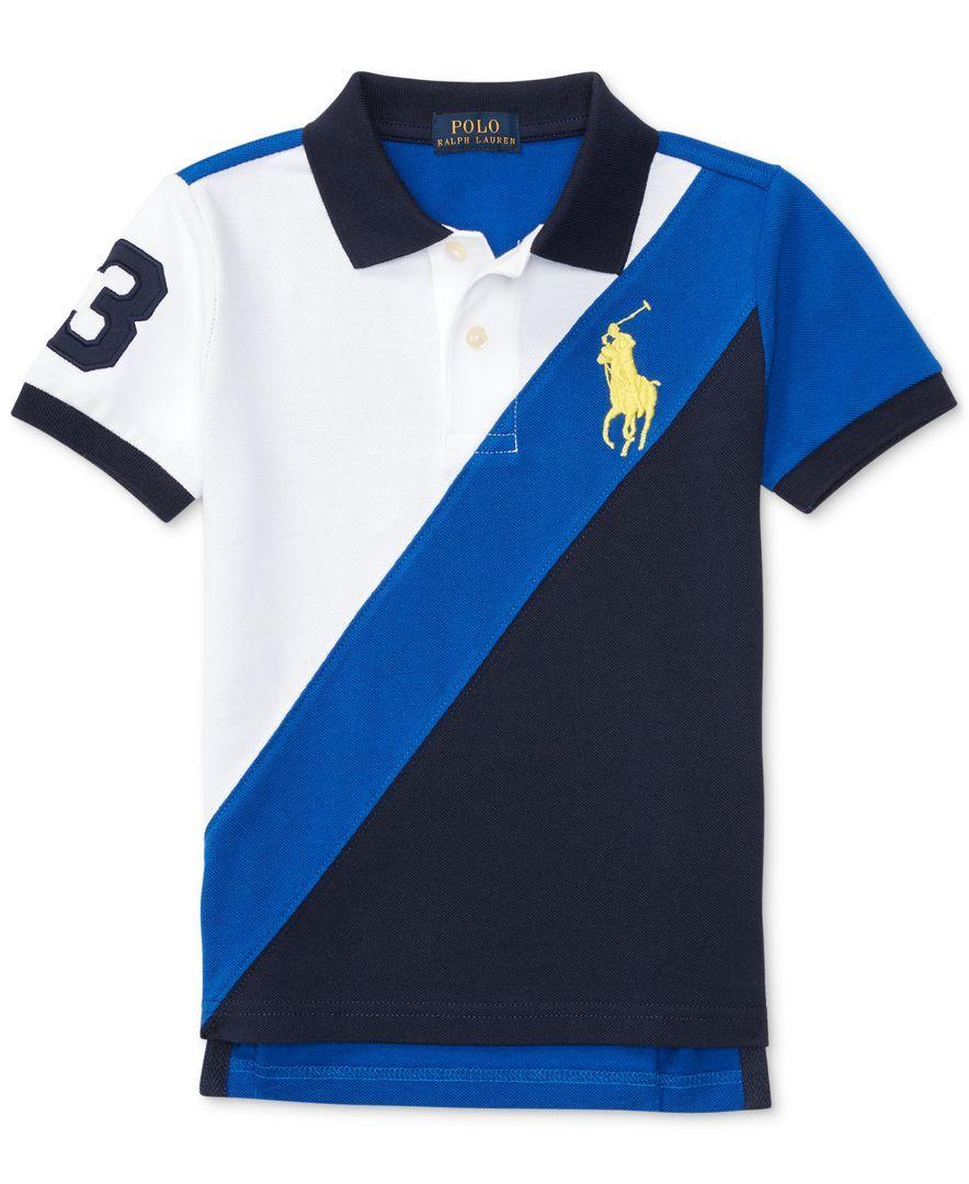 461efd2ed Ralph Lauren Cotton Banner Polo Shirt