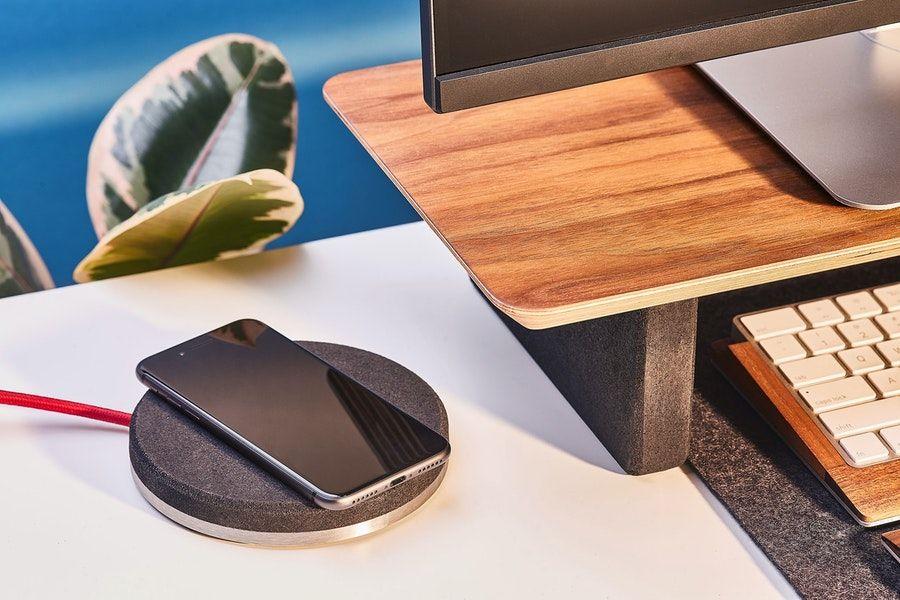 Wood Desk Shelf In 2020 Desk Shelves Walnut Desks Desk