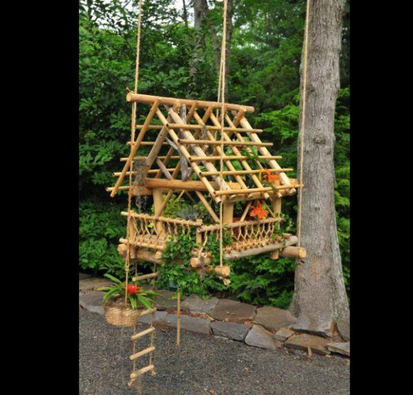 Artesanato Com Bambu Fino Passo A Passo Artesanato Com Bambu