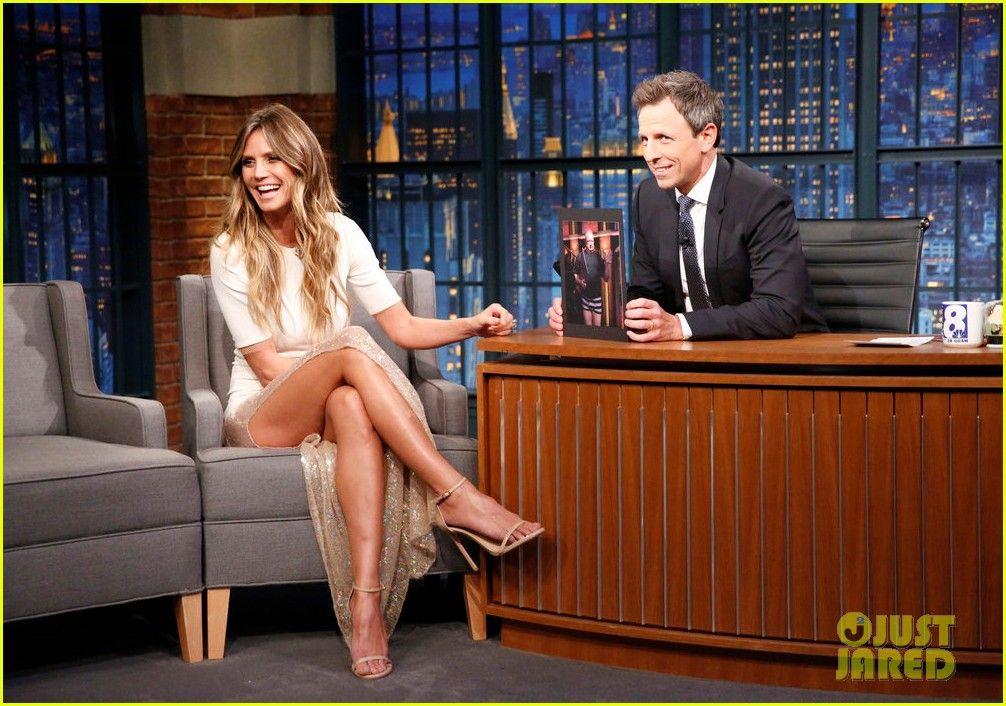 Heidi Klum Teases 2017 Halloween Costume on 'Late Night': 'A Lot ...