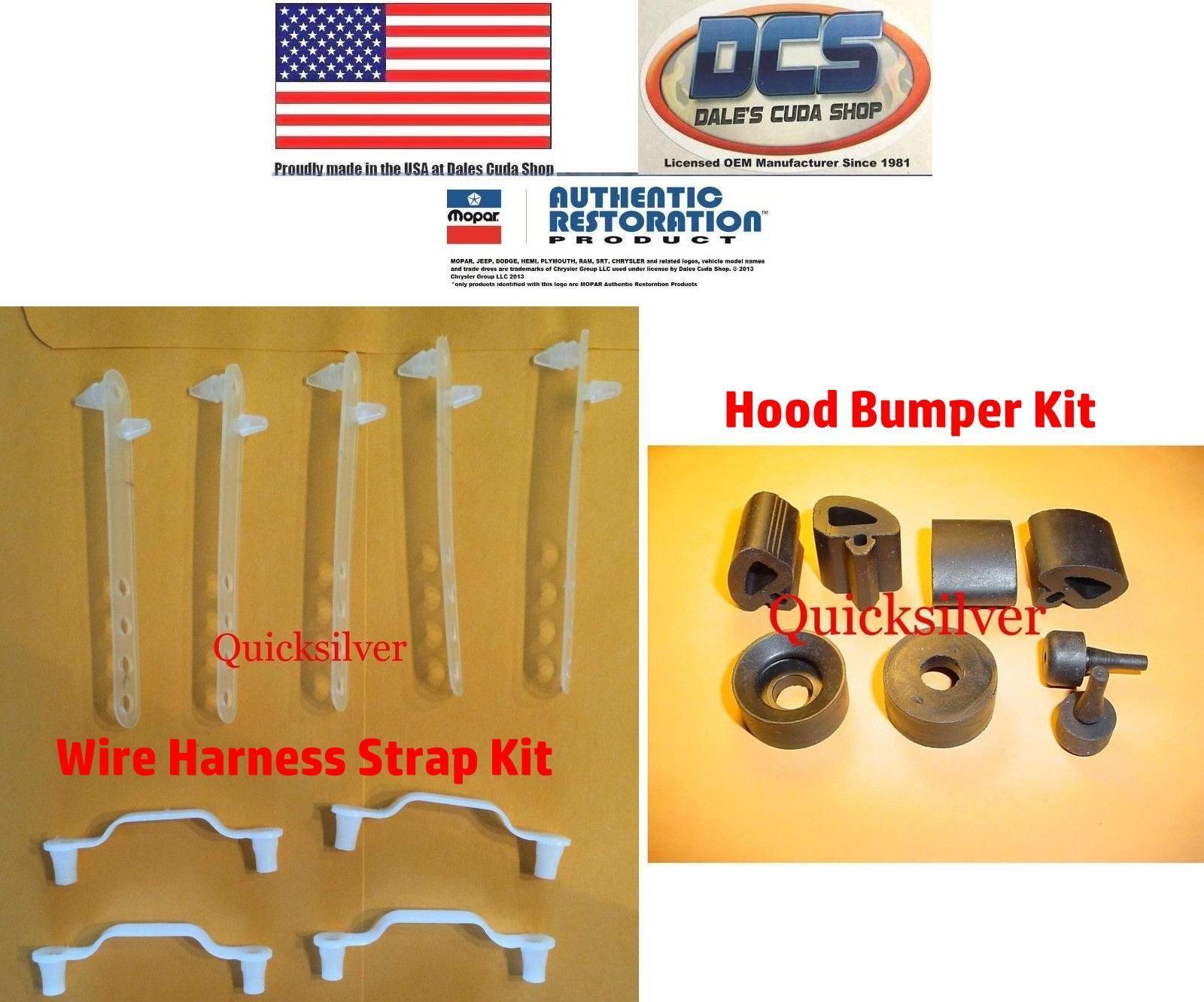 1966 67 Gtx Satellite Charger R T Under Hood Bumper Wire Strap Kit Mopar Usa 641871986682 On Ebid United States 163297165 Mopar Cuda Kit