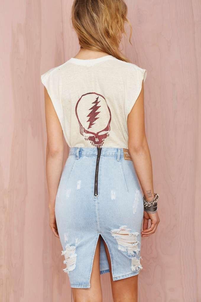 Saia jeans ..
