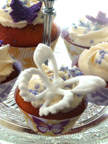 cupcake papillon