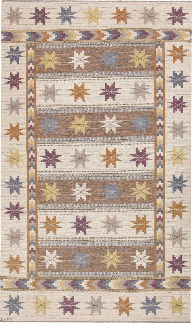 Marta Maas Rugs Vintage Marta Maas Fjetterstrom Carpets Mmf Rugs Scandinavian Rug Wool Area Rugs Purple Area Rugs