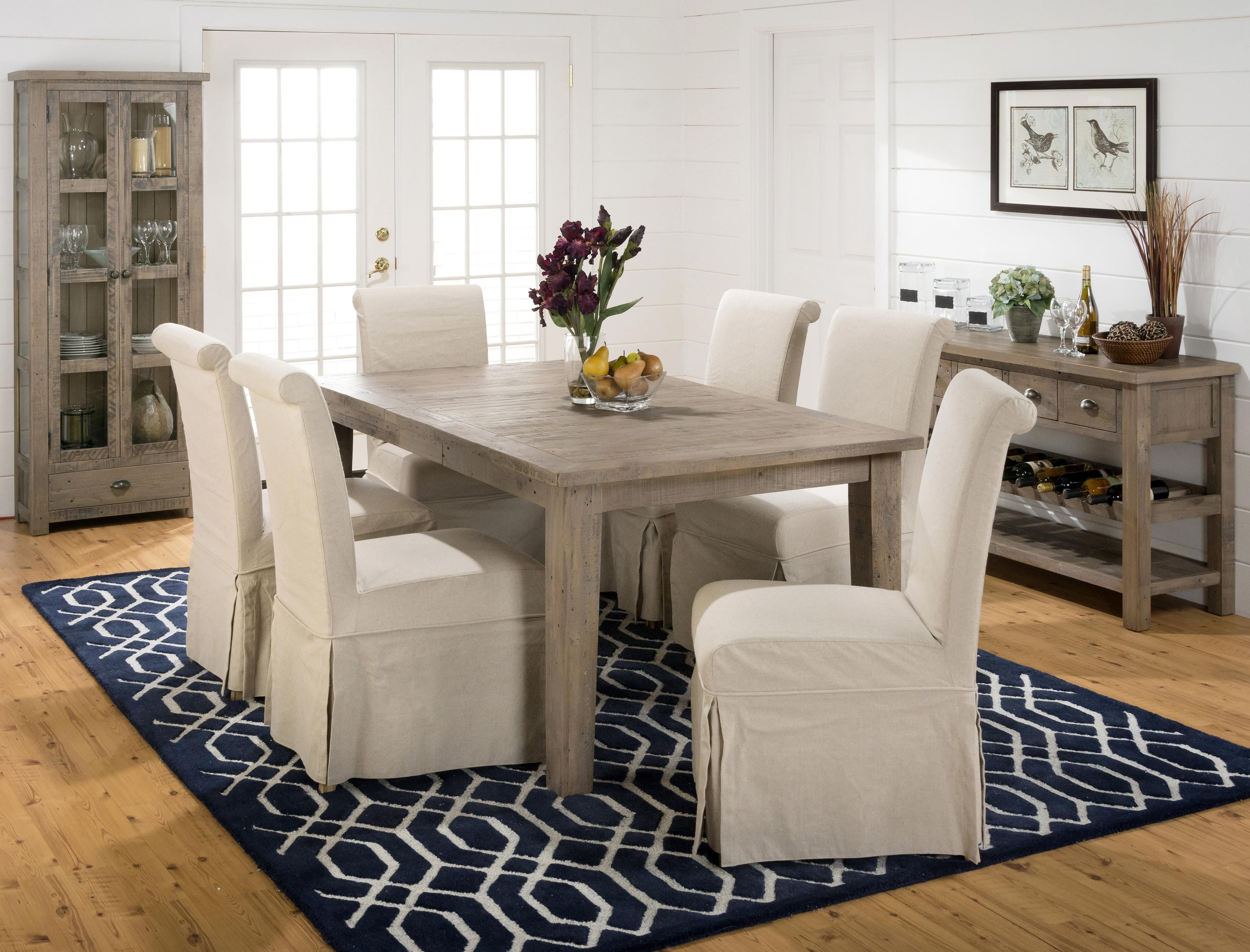 Slater Mill Pine Casual Dining Room Group By Jofran Interior