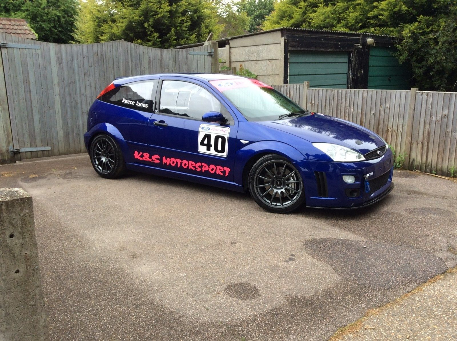 Mk1 Focus Rs Race Car Track Car Race Car Track Focus Rs Racing