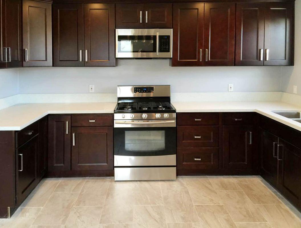 Ontario Beech Espresso Rta Kitchen Cabinets In 2020 Espresso Kitchen Cabinets Rta Kitchen Cabinets Quality Kitchen Cabinets