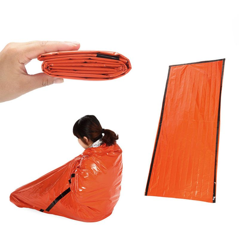 Outdoor Portable Emergency Sleeping Bags Thickening Lightweight Camping Travel