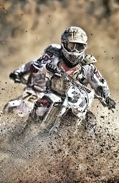 """MOTOCROSS - Because """"...any day riding beats any day at work"""""""