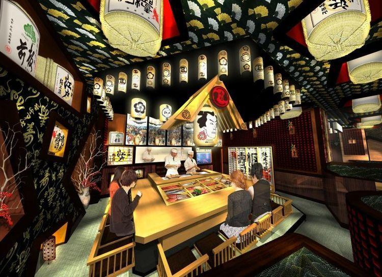 """4年連続で初セリのマグロを最高額で競り落とした、あの板前寿司が新感覚の楽しい寿司屋をオープンさせました!「江戸」がキーワードの寿司店、一体どんなところなのでしょうか。        """"江戸""""すぎる寿司屋が赤坂見附にオープン!          日本、世界で60店舗以上展開する板前寿司が、新たなコンセプトの寿司屋をオープンしました。その名も「板前寿司..."""