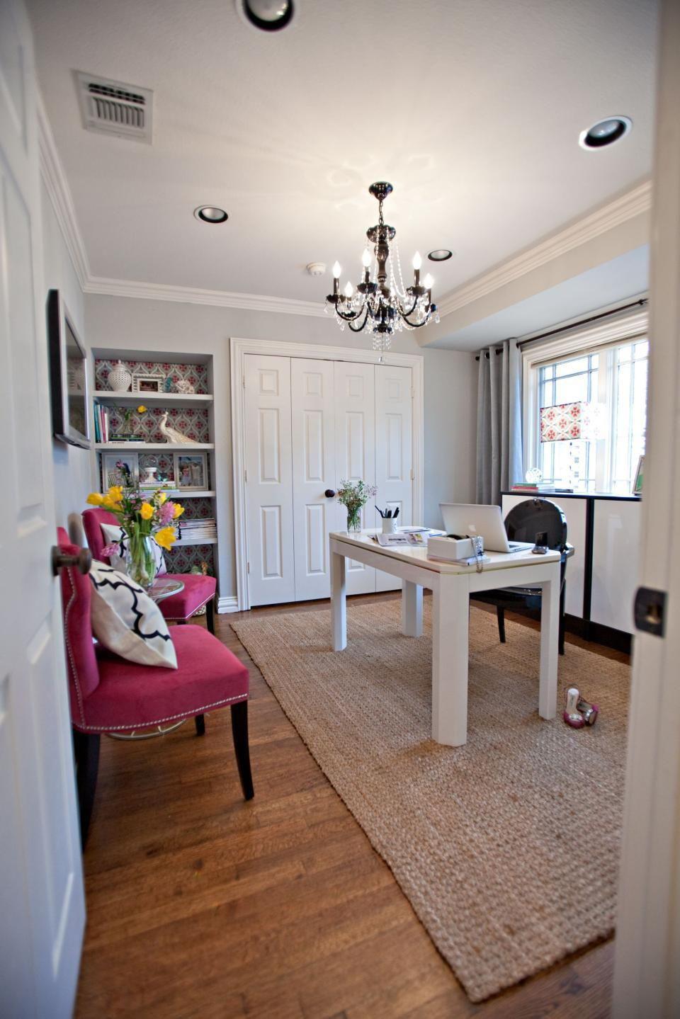 Office space but with less girly mess | Casa de Schrum\'s | Pinterest